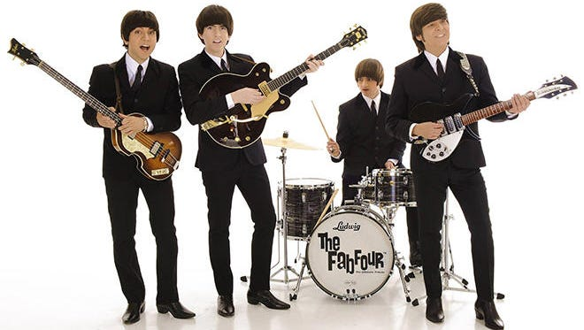 The Fab Four  will appear at 8 p.m. Saturday at the Spencer Theater for the Performing Arts.