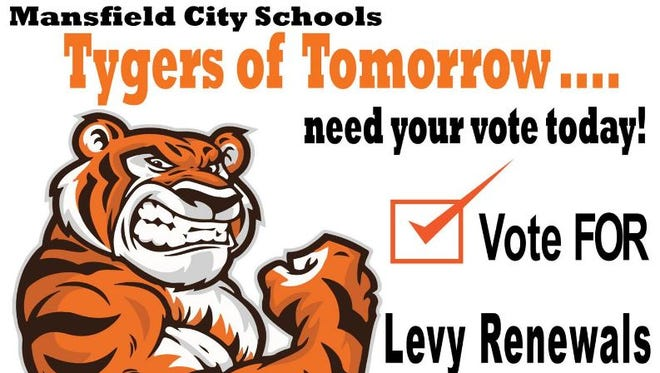 """""""Tygers of Tomorrow"""" is the theme of the campaign to support two Mansfield City Schools renewal levies."""