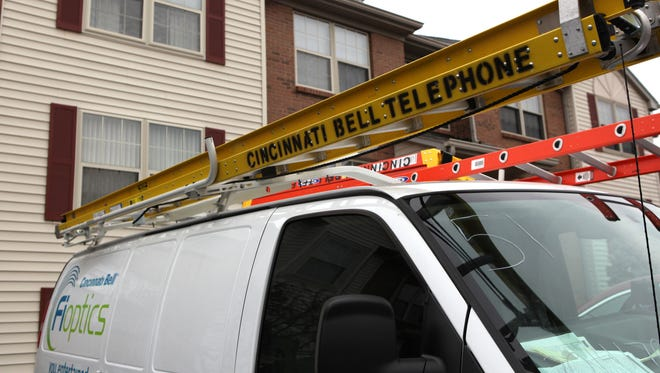 Wed., February 4, 2015 Residents in the Palisades Pointe condominium complex in the neighborhood of Riverside have been experiencing outages in their Cincinnati Bell telephone service. The Enquirer/Cameron Knight
