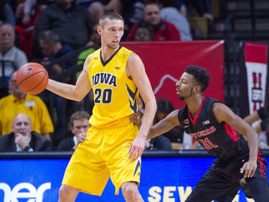 Jarrod Uthoff (20) and the Hawkeyes have been the surprise of the Big Ten.