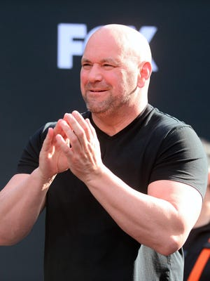 Dana White and the UFC will have 30 events per year broadcast on ESPN.