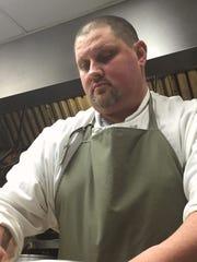 David Tallent works the line at Restaurant Tallent.
