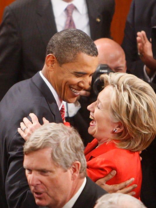Barack Obama, Hillary Rodham Clinton, Tom Vilsack
