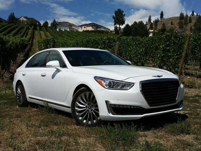 The conservative Genesis G90 wears its wardrobe like