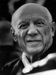 Artist Pablo Picasso, seen here in 1972, died at age 91 in 1973.