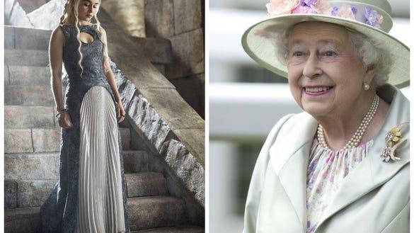Queen Elizabeth and Daenerys