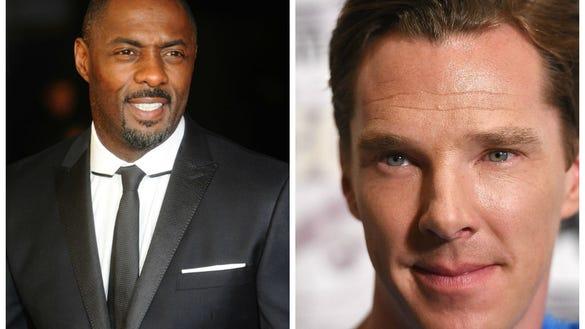 Idris Elba Benedict Cumberbatch