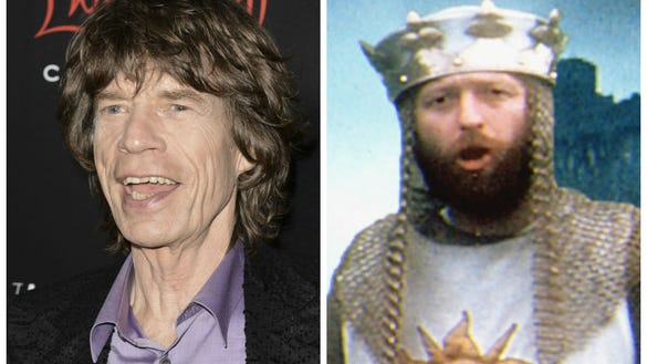 Mick Jagger and Monty Python