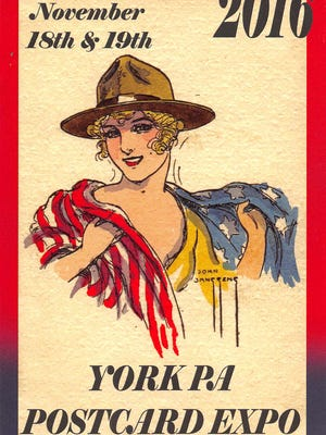 The York Pennsylvania International Antique Postcard Expo will feature dealers from more than 35 states and four countries Nov. 18-19.
