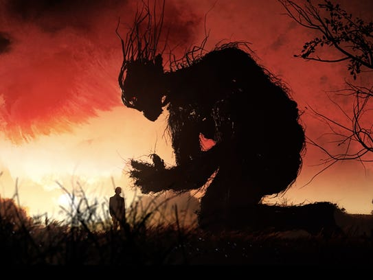 Liam Neeson voices the monster in 'A Monster Calls.'