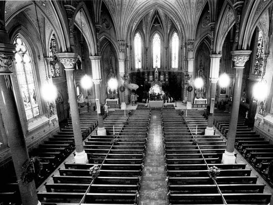 St. Michael's Catholic Church, Rochester, in 1985
