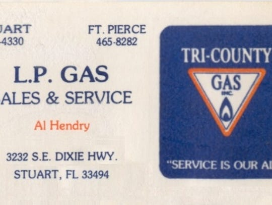 Tri-County Gas In the 1960s.
