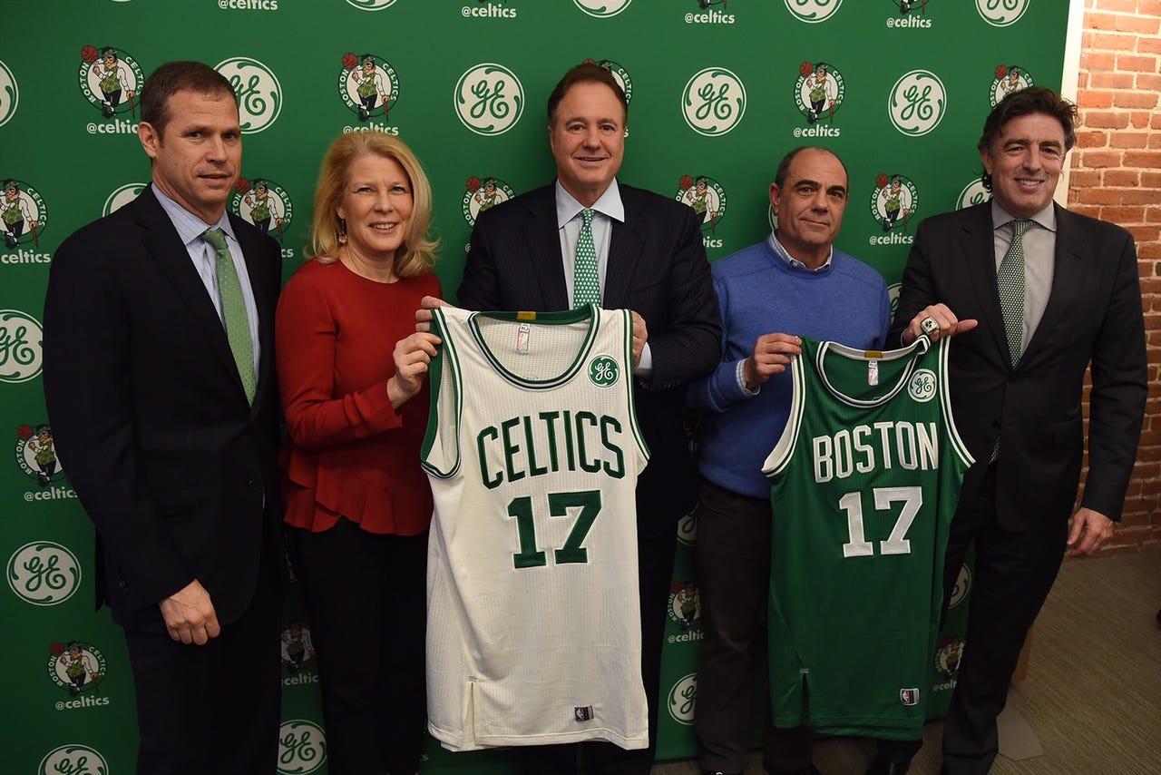 picture regarding Boston Celtics Printable Schedule named Boston Celtics jerseys toward characteristic All round Electric powered emblem future