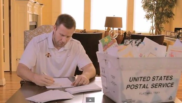 Fred Hoiberg appears in the April 14 Iowa Nice Guy video.