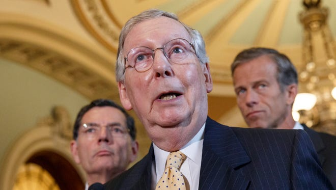 Senate Minority Leader Mitch McConnell, R-Ky., will become majority leader in the next Congress if Republicans take control.