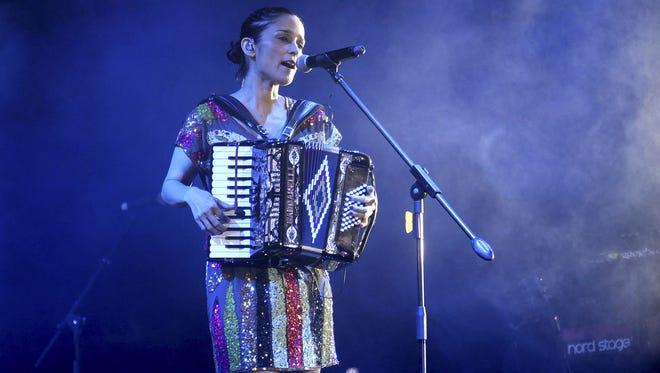 The Grammy Award-winning Latin pop singer-songwriter Julieta Venegas will perform at 10 p.m. Feb. 29 at Speaking Rock Entertainment Center, 122 S. Old Pueblo Road.
