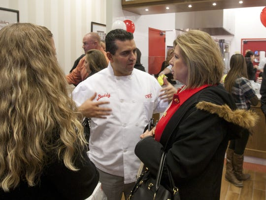 """Owner Buddy Valastro, star of the reality TV show """"Cake"""