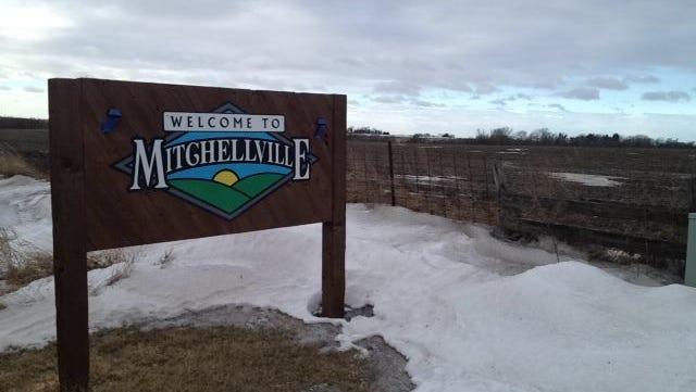 Mitchellville sign