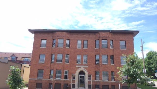 Navarre building, 718 15th Street, Des Moines.