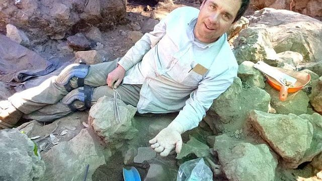 Chris Fisher, associate professor of anthropology at Colorado State University, on site in western Mexico, where his team recently discovered a cemetery near the ancient city of Angamuco.