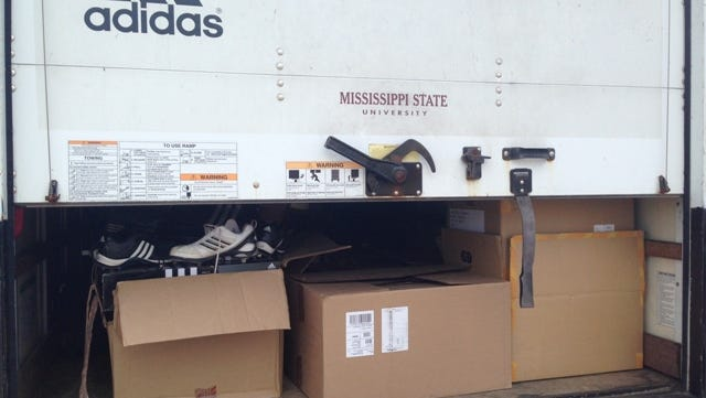 Mississippi State donates to Jackson State baseball after the Tigers' bus caught fire on May 5, 2014.