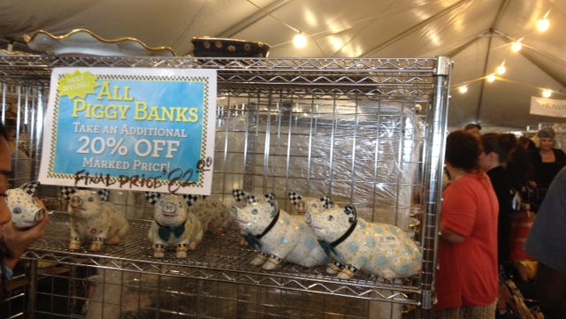 Sale up to 80 percent off at MacKenzie-Childs Barn Sale