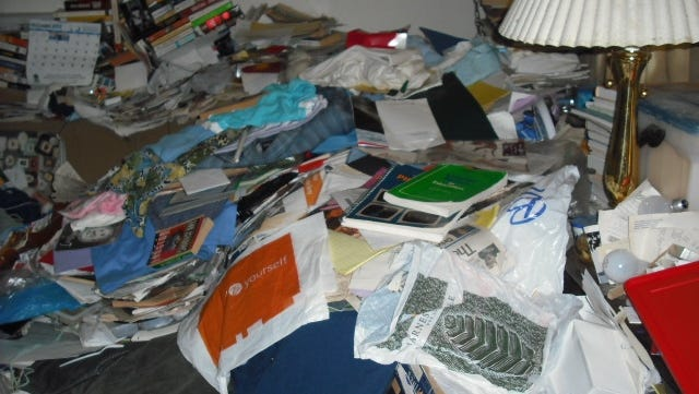 Although cases of hoarding aren't specifically tracked in Delaware, officials believe the number is rising.