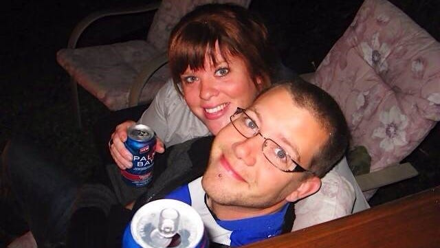 Dylan and Robyn Benson before the 32-year-old pregnant wife was found unconconscious by her husband and later declared brain dead.