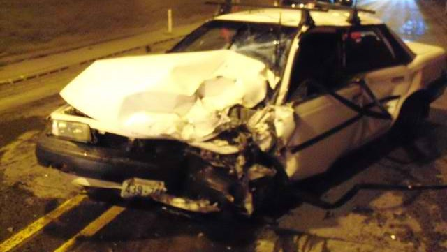 Oregon State Police released this photo of the vehicle they say Daniel Calhon drove when he lost consciousness after holding his breath.