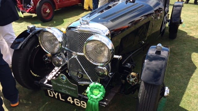 This 1937 Jaguar was one of the first, but it's owner still takes it out for Sunday drives