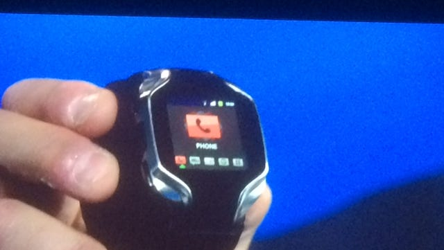 Intel's new smart watch, unveiled at CES in early 2014