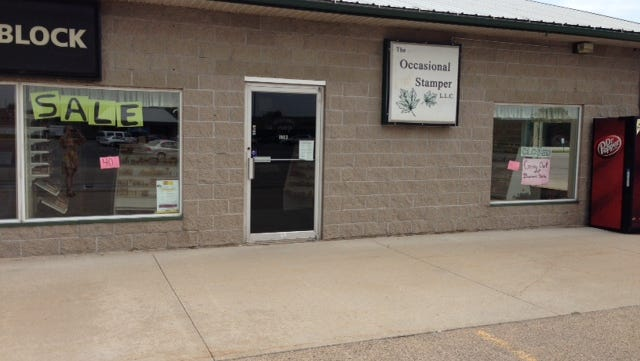 The Occasional Stamper shuts its doors in New London.