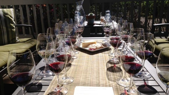 Tastings are by appointment only at Frog's Leap in Rutherford, Calif.