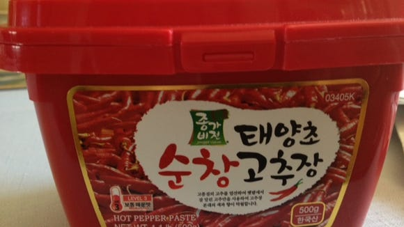 Korean hot pepper paste is great for flavoring sloppy joes and other dishes.