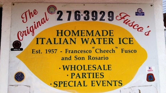 Getting a cup of lemon-flavored water ice has been tradition for generations of Delawareans.