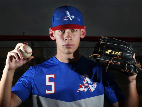 Outfielder Adrian Torres of Americas High School is the All-City MVP in boy's baseball.
