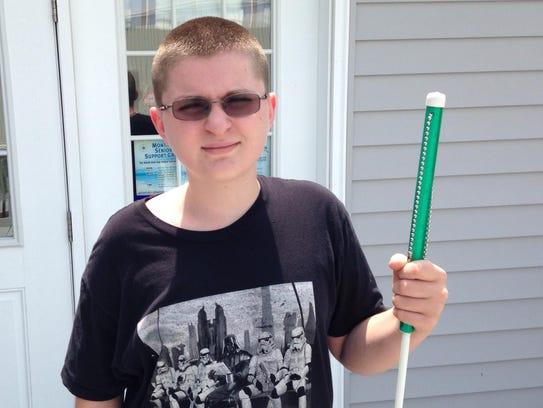 Wicomico Middle School eighth-grade student James Michael