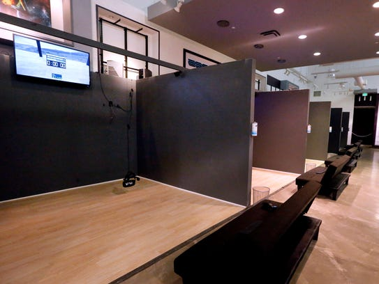 The VR Lounge is equipped with 6 10x10 booths and is
