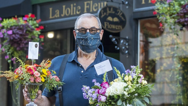 Sean Maher owns La Jolie Fleur floral designs in Worcester.