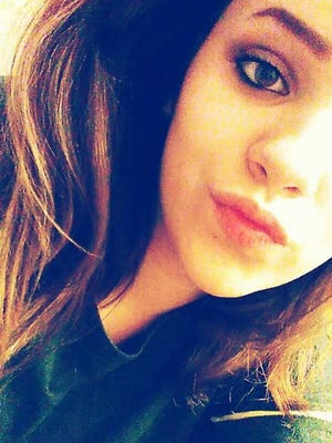 Missing 14-year-old Amber Watson (photo posted to Facebook by the Abilene Police Department)
