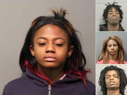 Four chicago video suspects