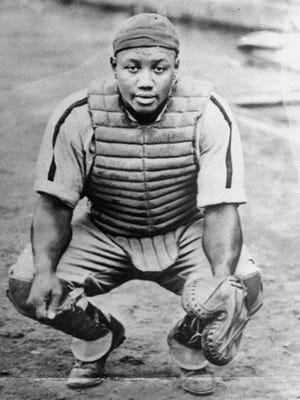 An undated file photo of Josh Gibson, considered one of the best catchers in baseball history, who was named to the Baseball Hall of Fame in 1972.  Gibson never had chance to play in the majors.