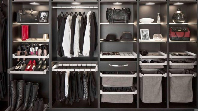 1. Your closet organization should be able to grow as your collectiom grows. 2. Drawer organizers from Artistic Closet Designs in Melbourne. 3. Lingerie drawers from Artistic Closet Designs.