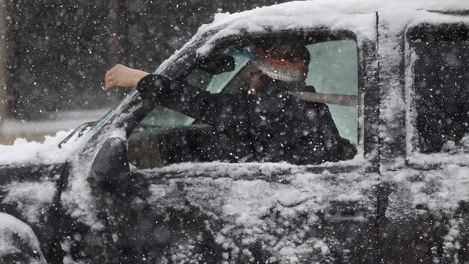 If your wiper blades are doing just a mediocre job with the snow, visibility is only going to get worse in a deep-freeze.