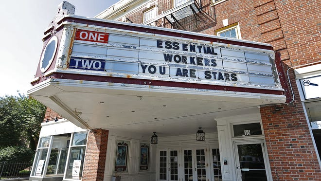 Without new films to run, local movies theaters, like the Cameo Theater in Weymouth, are remaining closed.