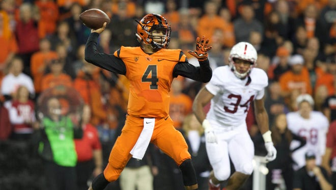 Seth Collins was the Beavers' starting quarterback the first seven games last season.