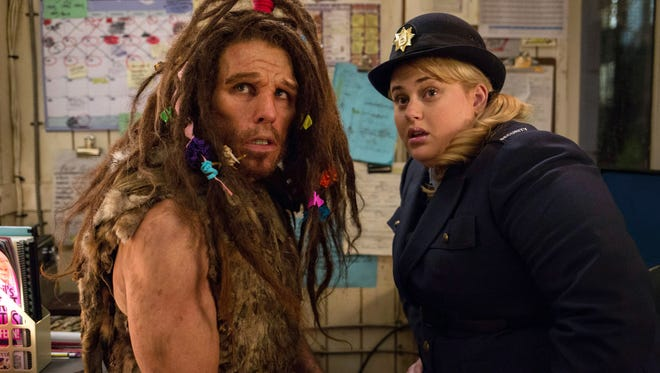 """Ben Stiller and Rebel Wilson go for a romp in """"Night at the Museum: Secret of the Tomb."""""""