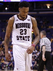 Dorrian Williams and the Bears lost to Southern Illinois in the 2015 play-in round.