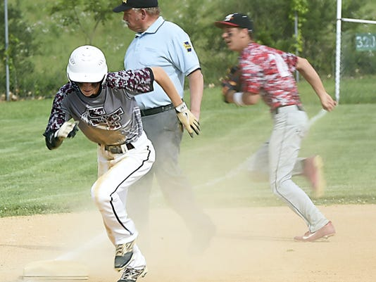More and more teams are relying on speed and small ball to score ever since high school baseball began using bats under the BBCOR standard.