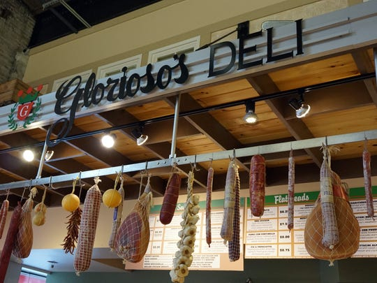 A new commercial kitchen in the original Glorioso's building will make it easier to keep  the store's deli stocked with customer favorites.